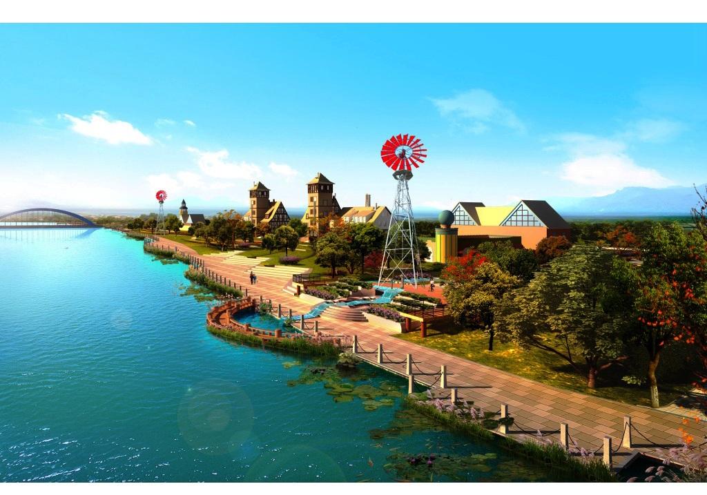吉祥园林风景图片